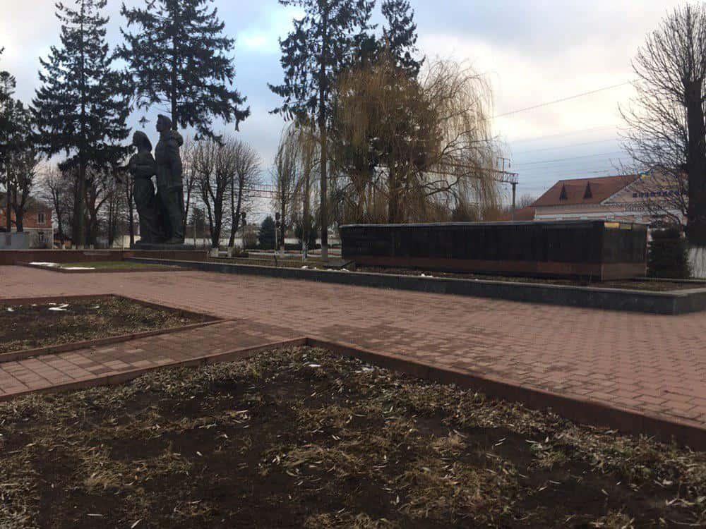 Пам'ятник Вічний вогонь - ДваМіста Інформаційно-розважальний портал Волочиська, Підволочиська