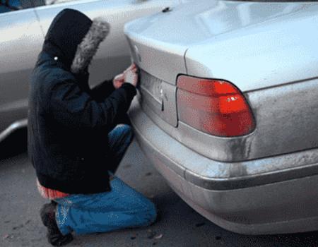 Крадіжка автомобільних номерів - ДваМіста Інформаційно-розважальний портал Волочиська, Підволочиська